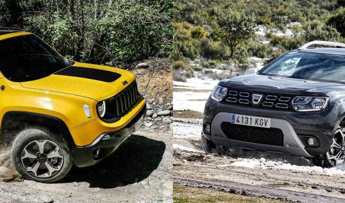 Jeep Renegade y Dacia Duster