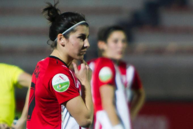 Lucía y el Athletic no pudieron pasar del empate con el Betis en Lezama (Foto: Athletic Club).