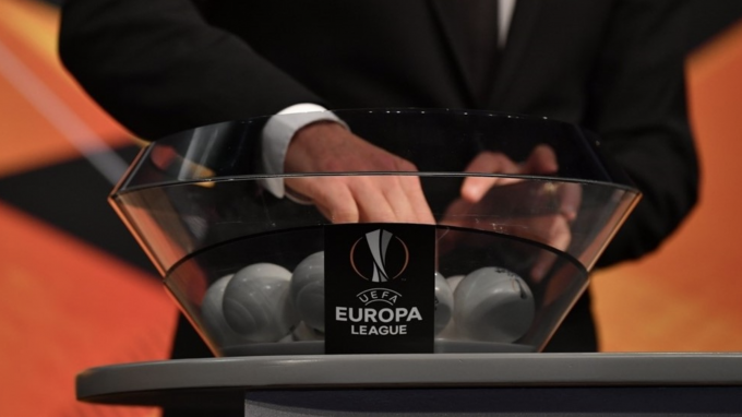 Sorteo de la Europa League.
