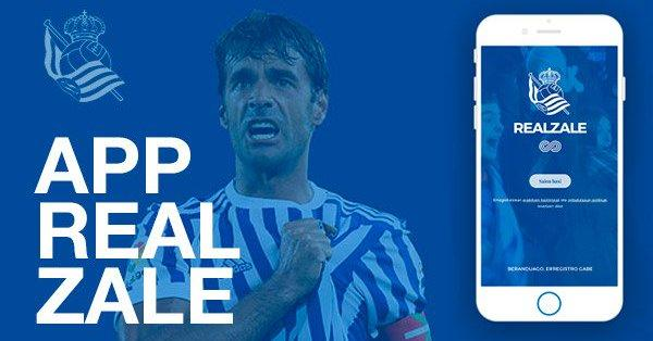 La real ha implantado al carnet digital a través de su APP (Foto: Real Sociedad).