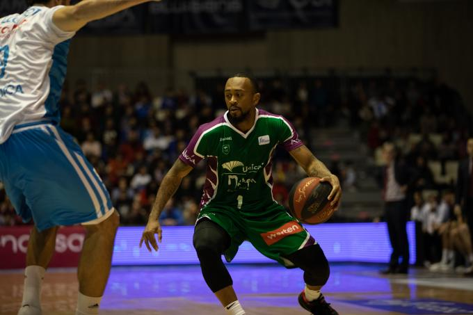 Ryan Boatright, en el Obradoiro-Unicaja (Foto: ACB Photo / T. Ruibal).