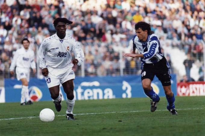 Hércules-Real Madrid de la temporada 1996/97