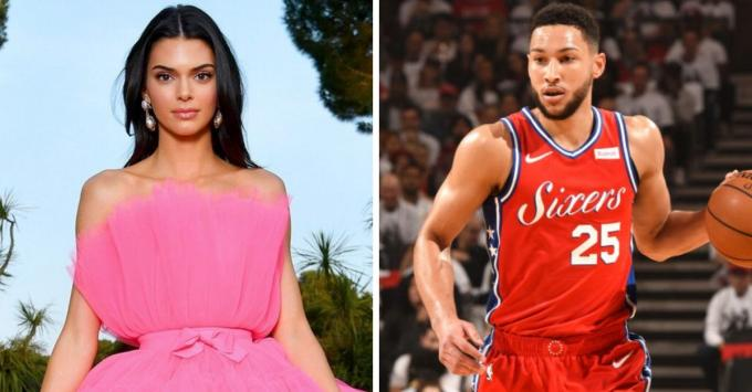 Kendall Jenner y Ben Simmons.