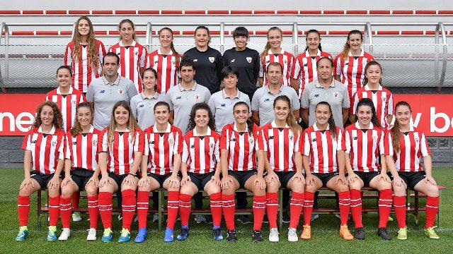 El Athletic Femenino B de Edurne Burgoa estará en la final de la Copa Vasca (Foto: Athletic Club).