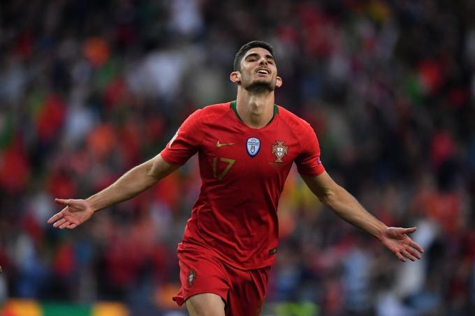 Guedes con Portugal (Foto: UEFA)