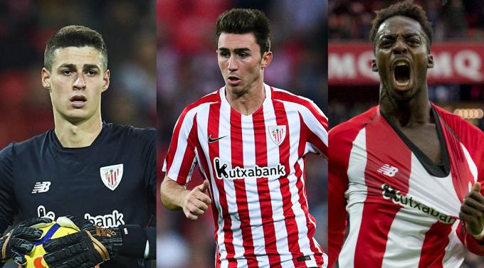 Kepa, Laporte y Williams forman la generación de 1994.