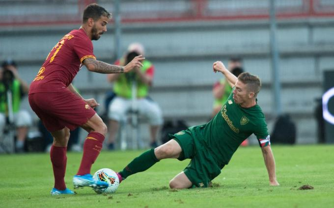 Iker Muniain marcó gol ante la AS Roma. (Foto: Athletic Club)