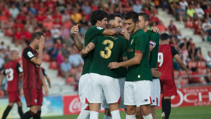 El Athletic afronta un difícil partido en el Sánchez Pizjuán (Foto: Athletic Club)