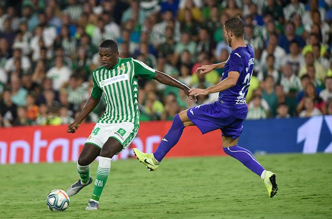 William Carvalho, durante el Betis-Leganés (Foto: Kiko Hurtado).