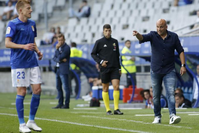 Real Oviedo VS Extremadura UD (Foto: Luis Manso).
