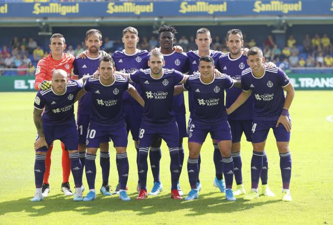Once inicial del Real Valladolid.