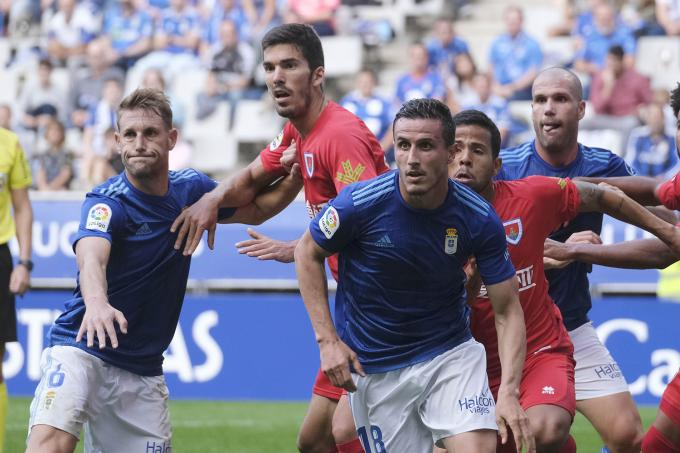 Real Oviedo VS CD Numancia (Foto: Luis Manso).