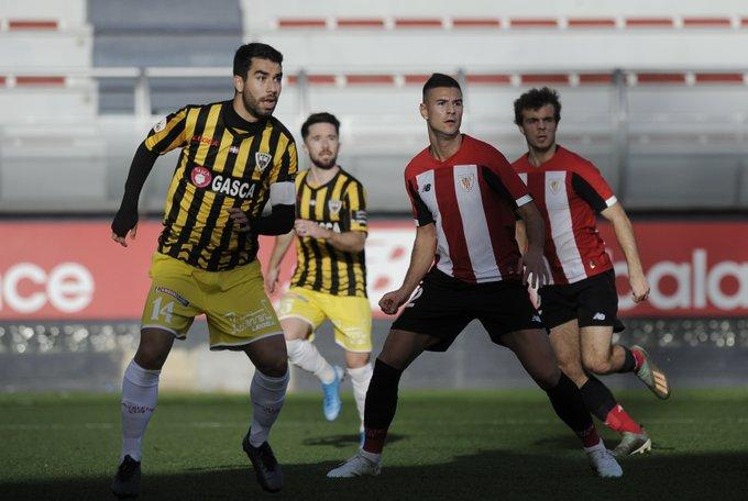 Guruzeta con el Bilbao Athletic (Foto: Athletic Club).