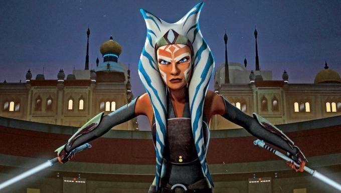 Ahsoka Tano en 'Star Wars: Rebels' (Foto: Lucasfilm Animation).