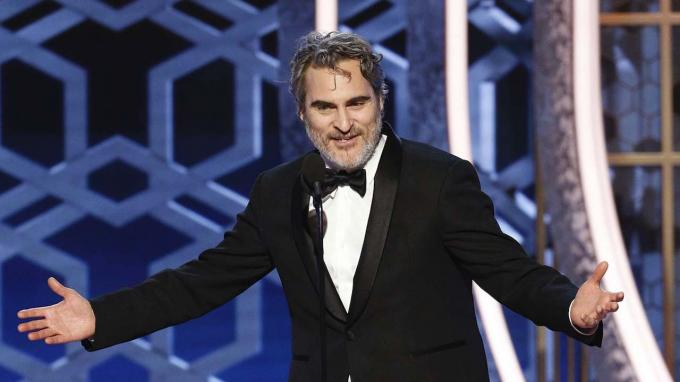 Joaquin Phoenix gana el Globo de Oro al mejor actor de drama (Foto: The Hollywood Reporter).