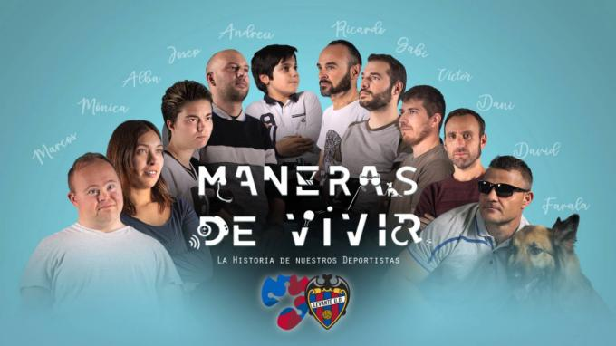 Cartel del documental 'Maneras de vivir'. (Foto: Levante UD)