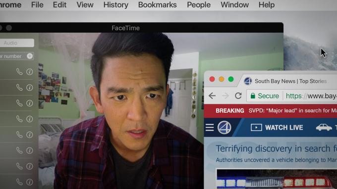 John Cho frente al PC, la base de la trama completa de Searching.