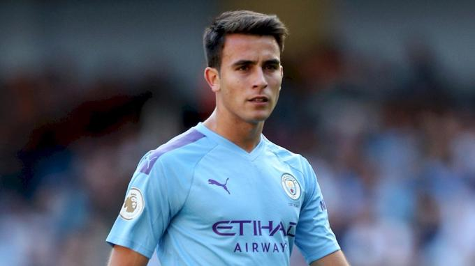 Eric García, lors d'un match avec Manchester City (Photo: EFE).