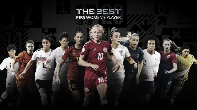 Las jugadoras nominadas al The Best 2020.