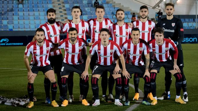 Once titular ante el Ibiza en Copa (Foto: Athletic Club).