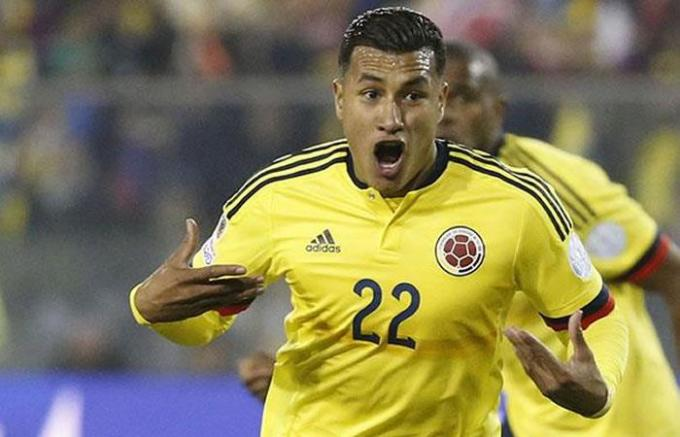 Murillo con Colombia.
